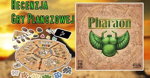 Recenzja Pharaon na BoardgamesTV